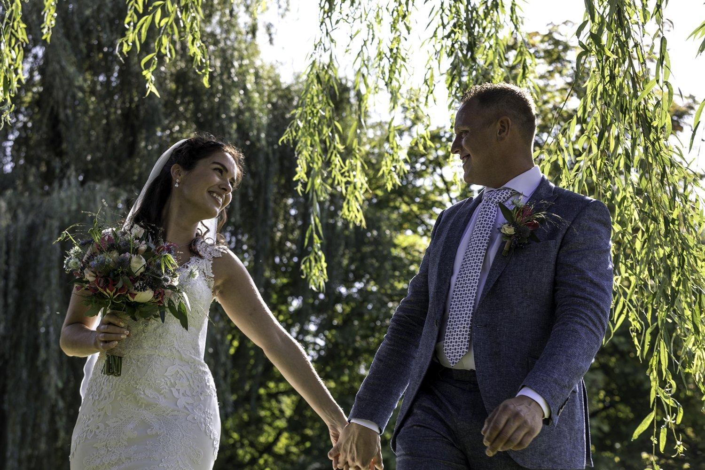 Huwelijksfotografie…<br />Blik terug met een glimlach